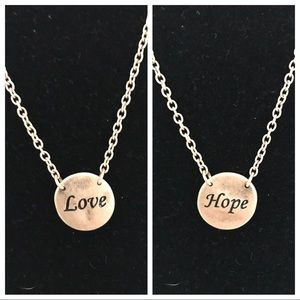 Park Lane Love & Hope necklace
